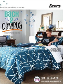 Sears Catalogue Back To Campus Aug 11 - Oct 31 2016