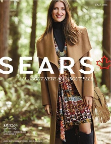 Sears Catalogue Fall Fashion 2016 - 2017