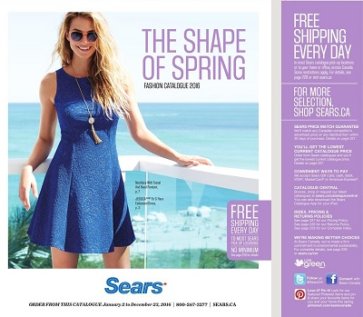 Sears Spring Summer Fashion Catalogue 2016