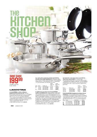 Sears Catalogue Kitchen Ware Sale
