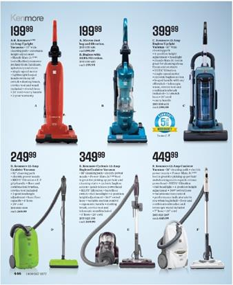 Sears Catalogue Vacuum Cleaner Price