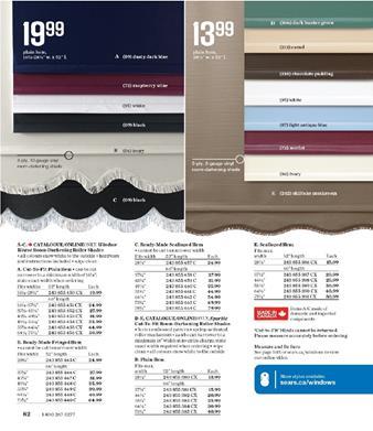 Review of Sears Catalogue Hem Models