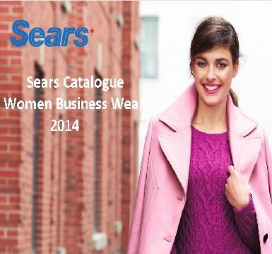 Sears Catalogue Women Business Wear 2014