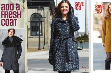 Sears womens coats