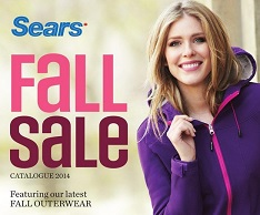 sears fall sale catalogue