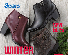 sears winter footwear home catalogue