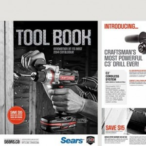 Sears Catalogue Tool Book October 2014