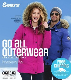 sears canada all outerwear catalogue