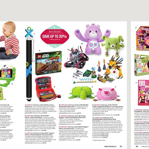 Sears Christmas Toy Gifts December