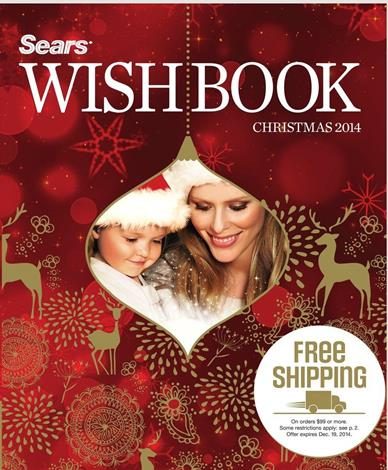 Sears Christmas Wishbook Review 2014