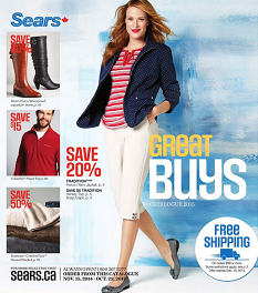 sears shoes and apparel catalogue