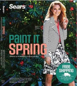Sears Catalogue January Sale Spring Fashion