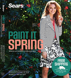 Sears spring summer 2015 catalogue