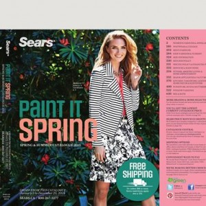 Sears June 2015 Women and Men Apparel