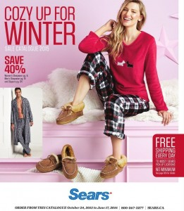 Sears Winter Men And Women Apparel