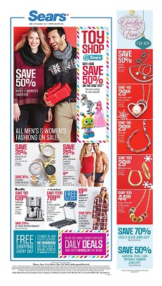 sears flyer december 17-24 christmas