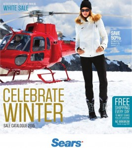 Sears Catalogue Winter Apparels December 2015