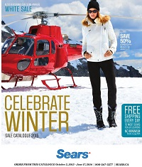 sears catalogue celebrate winter