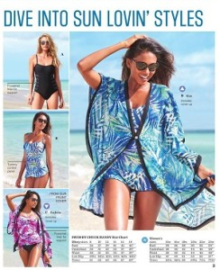 Sears Flyer 15 April 2016 Ontario Swimsuits